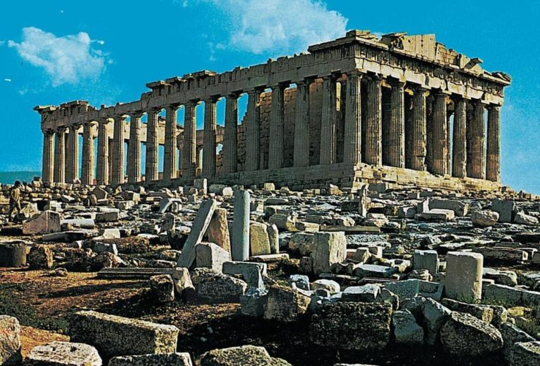 The ancient temple of Parthenon is one of the world's most visited tourist attractions.