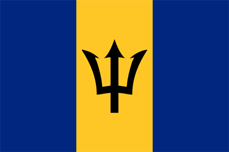 Barbados Emoji Flag