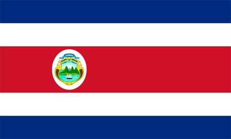 Costa Rica Emoji Flag