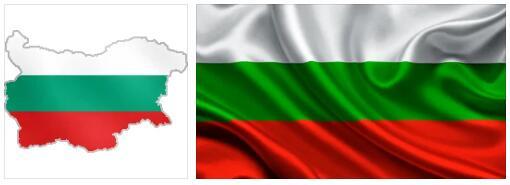 Bulgaria Flag and Map 2