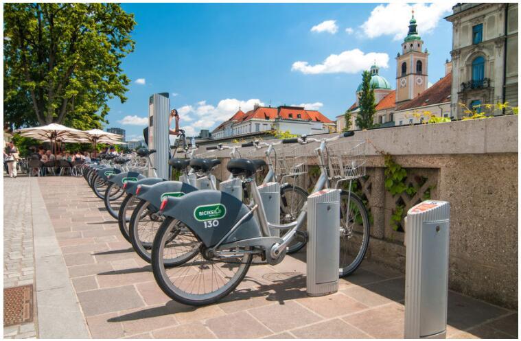 Explore Ljubljana by bike