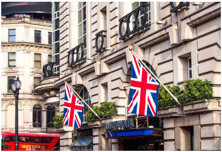 Five recommended hotels in London