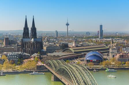 River cruise on the Rhine