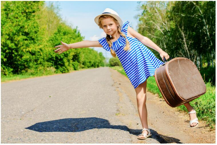 Travel with children on a city break