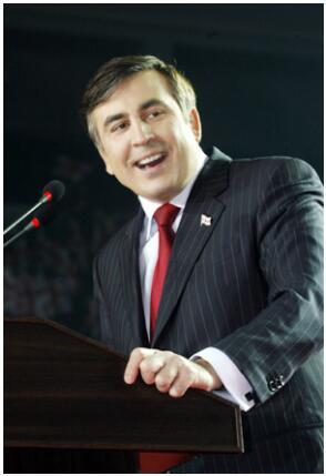 M. Saakashvili - President of Georgia