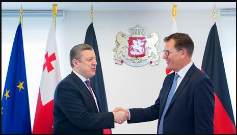 Meeting between Minister Müller and Prime Minister Kvarikashvili