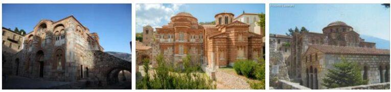 Monasteries Daphni, Hosios Lukas and Nea Moni